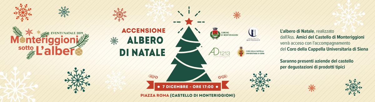 Albero Di Natale Con Foto Amici.Accensione Dell Albero Di Natale Comune Di Monteriggioni
